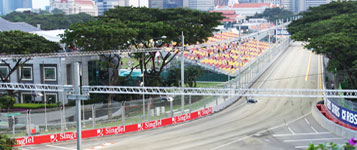 view of the singapore racetrack
