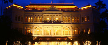 raffles famous hotel in singapore